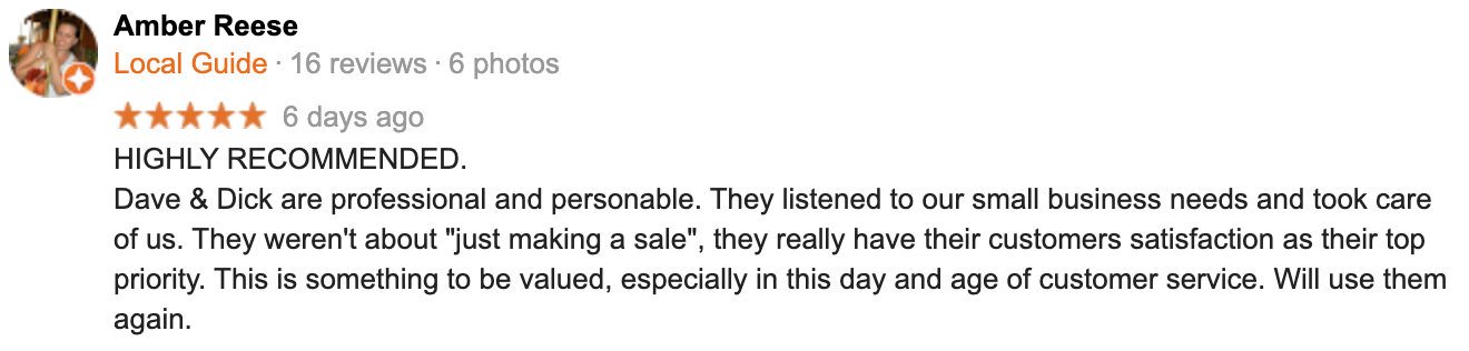 Bucket Truck review from Amber Reese