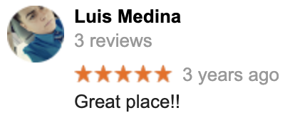 Commerce Truck & Equipment Sales review from Luis Medina in Corona CA